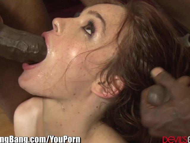 Redheads who love to deepthroat cock