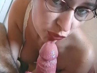 Glasses Perky video: Secretary Babe Sucks My Cock - Telsev