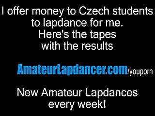 Masturbation Czech Pov video: Hot lapdance by fresh czech cutie