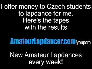 Porno video: Sexy lapdance by cute czech MILF