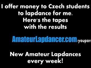 Lapdance by sexy czech wannabe