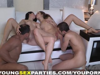 Young Sex Parties – Staying together to fuck