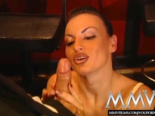 German Pornstars video: MMV Films Laura Angel loves to fuck