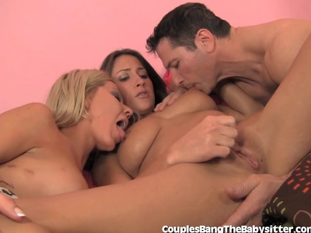 Milfs with three guys