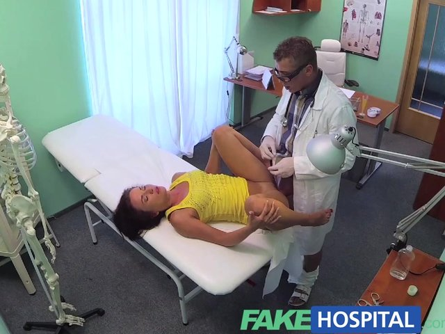 Fakehospital sexy british patient swallows doctors advice Part 4