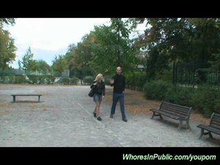 Czech Girls Czech Porn Euro Girls video: public park sex