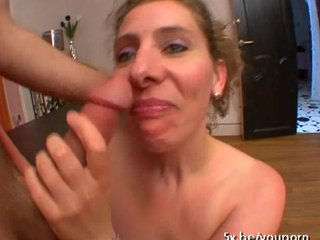Anal Aurelie Blowjob video: Aurelie Cuckolds Her Husband
