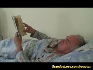 Grandpa Porn Grandpa Teen Porn Grandpalove video: grandpa in love