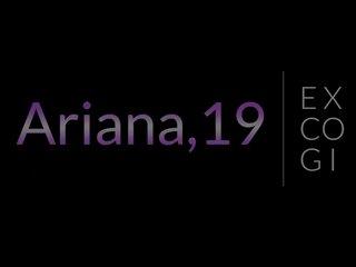 Pov Teen Blonde video: Cum Blasted Amateur Teen Ariana on Excogi