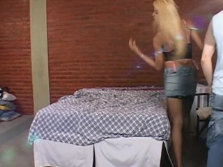 Cuckold Latin video: Shemale cuckolds her boyfriend - Robert Hill