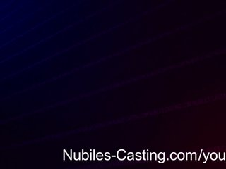 Blowjob Casting Cumshot video: Nubiles Casting - Cute amateur nails hardcore casting