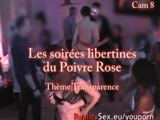 French Hidden Party video: Camera espion en soiree privee ! French spycam Part03