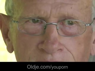 Teens,Blonde,Older,Oldman,Olandyoung