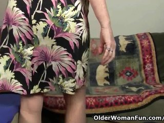 Milf Nylons Mom Pantyhose Mom Masturbates video: Mom's pussy gets so wet in pantyhose