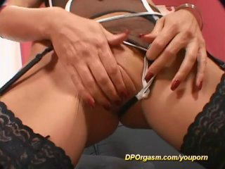 Orgasm Dp Doublepenetration video: rough double penetrations