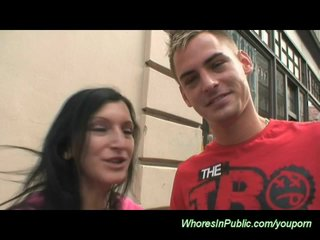 Czech Porn Euro Girls Euro Porn video: young couple fucking in public