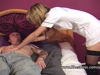 Femdom Fetish Boots video: Pussy grinding on his face