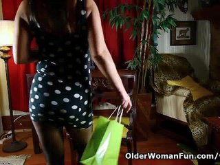 For moms pantyhose and stocking videos phrase... super