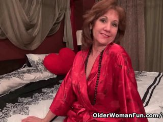 Milf Pantyhose Mom Nylon Mom Pantyhose video: Black pantyhose will send mom over the edge