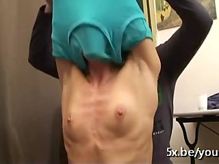 Gangbang Amateur French video: Emmanuelle's husband wants to participate