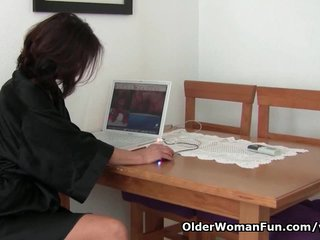 Porno video: Watching porn ignites grandma's lust