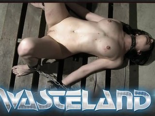 Dominatrix Femdom Kinky video: Brunette is tied and spanked by older dungeon master